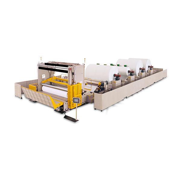 jumbo reel machine slitting rewinder